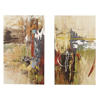 Signature Design by Ashley Multi Color 'Bailby' Wall Art (Set of 2)