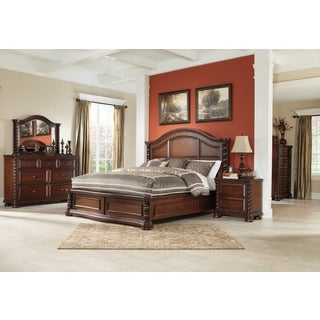 Signature Designs by Ashley Brennville Brown Cherry Bed