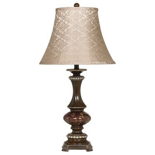 Signature Designs by Ashley Rosemary Bronze/ Antique Silver Table Lamp (Pack of 2)