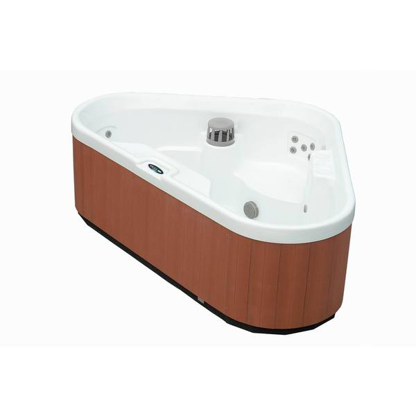 Aston White 3-person 30-jet Dual Insulated Hot Tub