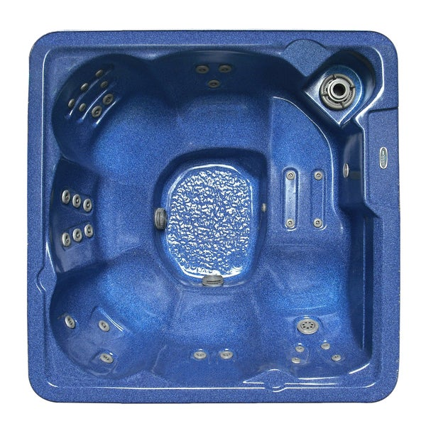 Aston Blue 6-person 30-jet Dual Insulated Hot Tub
