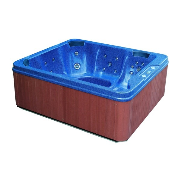 Aston Blue 6-person 32-jet Dual Insulated Hot Tub