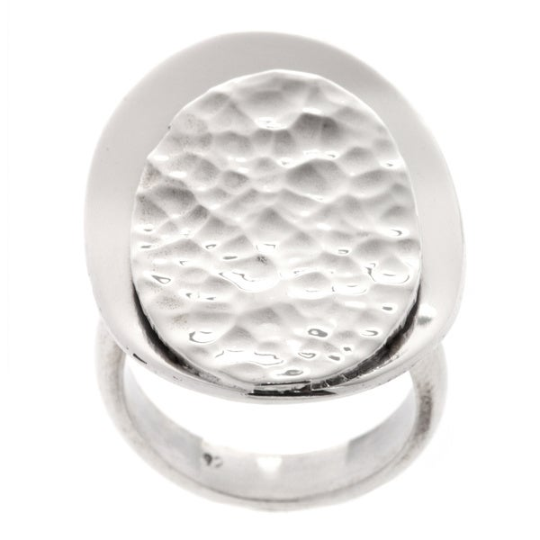 Kele & Co. Sterling Silver Double Disk Ring