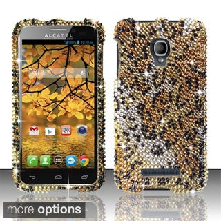BasAcc Diamond Beads Shinny Design Case for Alcatel One Touch Fierce 7024T