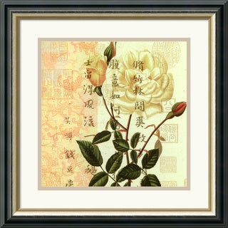 Rose' Framed Art Print 19 x 19-inch