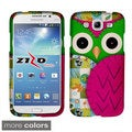 BasAcc Owl Cute Cartoons Rubberized Hard Case for Samsung Galaxy Mega 5.8
