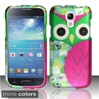 BasAcc Owl Cute Cartoons Rubberized Hard Case for Samsung Galaxy S4 mini