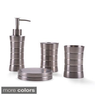 Stainless Steel 4-piece Bath Accessory Set