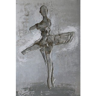 Yosemite Home Decor 'Ballerina' Metal Art