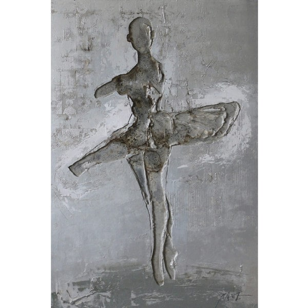 Ballerina Metal Art