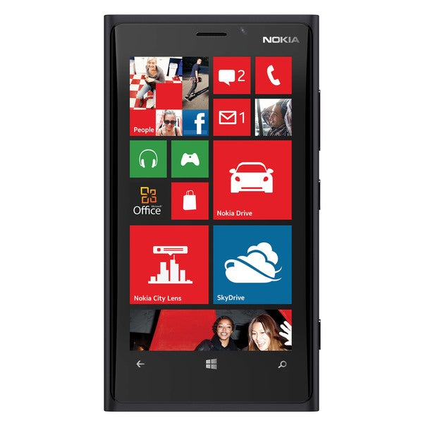 Nokia Lumia Black 32 GB Unlocked GSM Windows 8 OS Cell Phone (Refurbished)