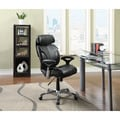 Serta Executive Black Bonded Leather Big and Tall Office Chair