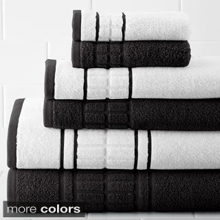 Quick Dry Egyptian Cotton 6-piece Towel Set
