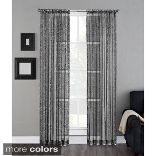Metropolis Rod Pocket 84-inch Curtain Panel