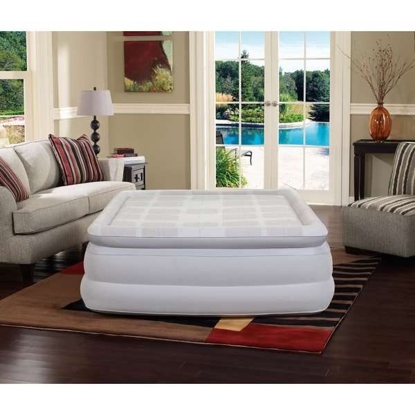 Simmons Beautyrest Memory Foam Queen-size 18-inch Pillow Top Air Bed