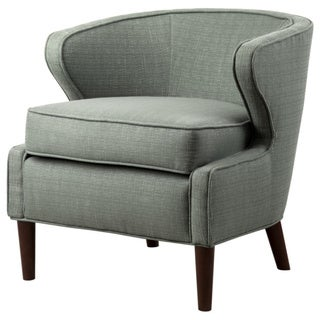 Lucca Pale Green Extended Arm Chair