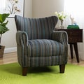 Giselle Pattern Striped Accent Chair