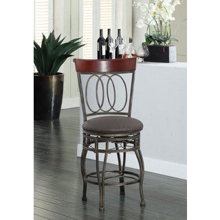 Olivia Swivel Metal Barstool