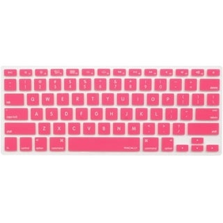 Macally Protective Cover in Pink for Macbook Pro, Macbook Air and Mos