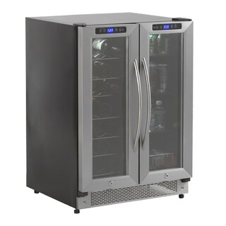 24-inch Stainless Steel Wine and Beverage Cooler