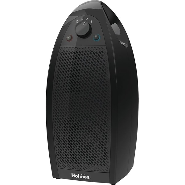 Holmes® Mini-Tower Air Purifier with HEPA-Type Filter in Black by Holmes HAP9412B-UA