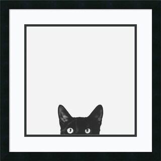 Jon Bertelli 'Curiosity' Framed Art Print 22 x 22-inch