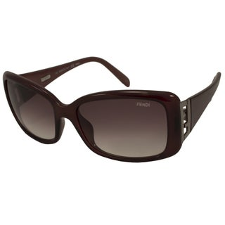 Fendi Women's FS5291 Rectangular Sunglasses
