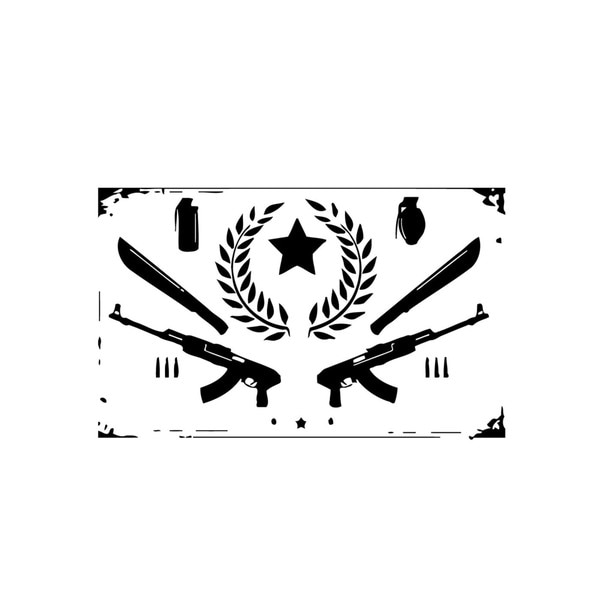 Weapon Collection Sign Wall Vinyl Art