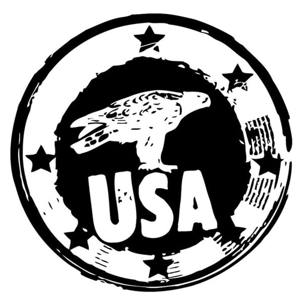 USA Seal Wall Vinyl Art