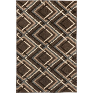 American Rug Craftsmen Augusta Browning Avenue Grey Black (10' x 14')