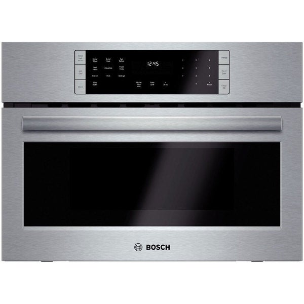 Bosch 800 Series Electric 27-inch Stainless Steel Microwave Oven