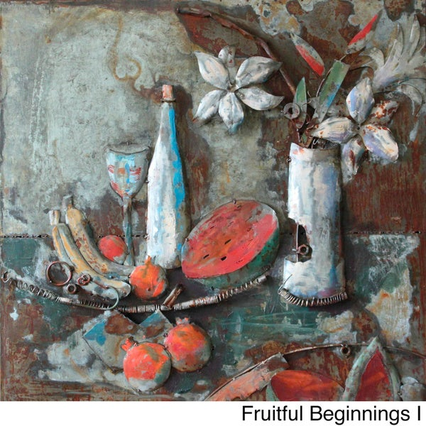 Fruitful Beginnings Metal Art