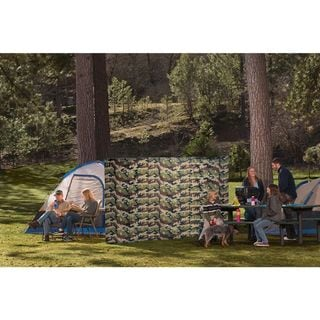 The WallUp Nylon Outdoor Privacy Screen and Wind Protector