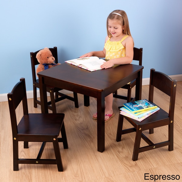Kidkraft Farmhouse 5 Piece Table And Chairs Set 16375606