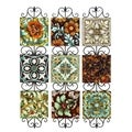 21-inch High Metal Wall Decor (Set of 3)