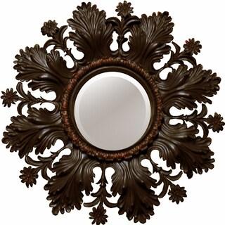 Ornate Bronze Accent Mirror