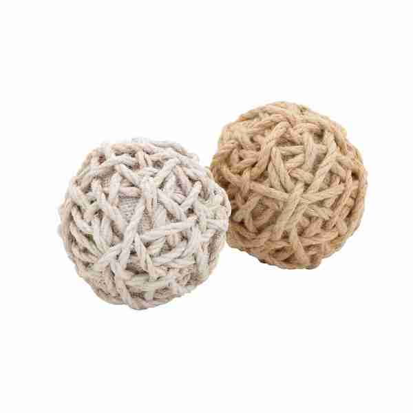Assorted Jute Balls (Set of 2)