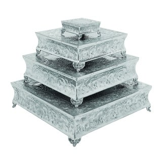 Aluminum Cake Stand (Set of 4)