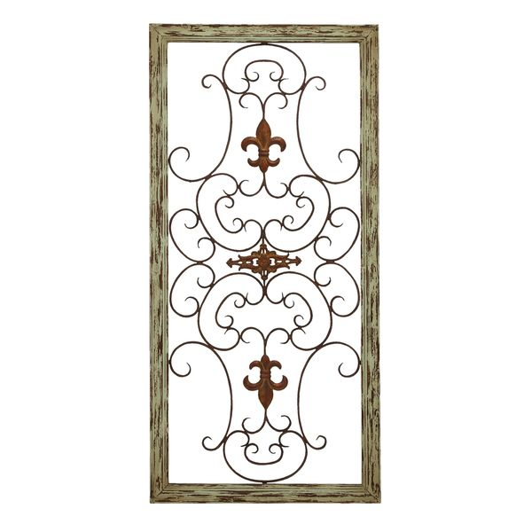 Wooden Gate Wall Plaque
