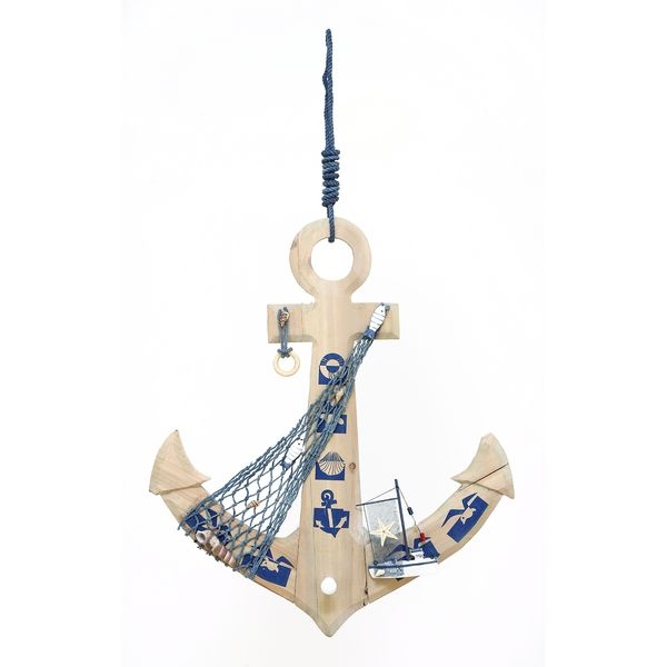 Weighing Anchor decor With Fishing Net
