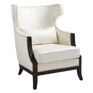 Sunpan Calcutta High Back Leather Chair