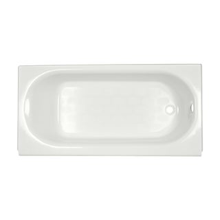 American Standard Princeton 5-foot Americast White Bathtub with Right-hand Drain