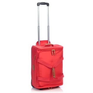 Bric's X-Travel Coral 21-inch Carry On Rolling Duffel Bag