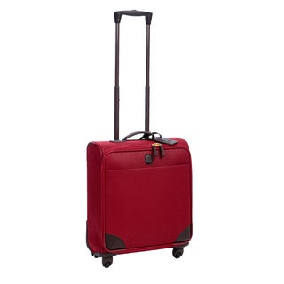 Bric's Life Red 20-inch Wide-body Carry On Upright Suitcase