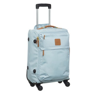Bric's X-Travel Pastel Blue 21-inch Carry On Spinner Upright Suitcase
