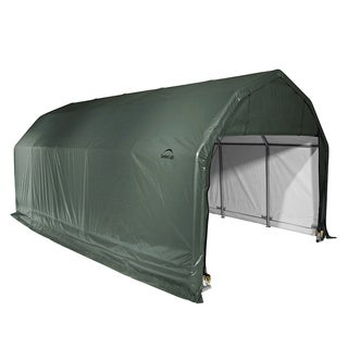 ShelterLogic 97154 Green Barn Shelter Style Garage