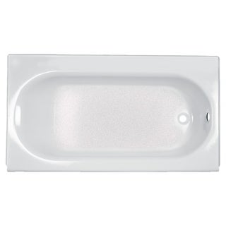 American Standard Princeton 5-foot Americast White Bathtub with Left-hand Drain