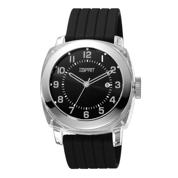 Esprit ES900631002 Black Cube Watch