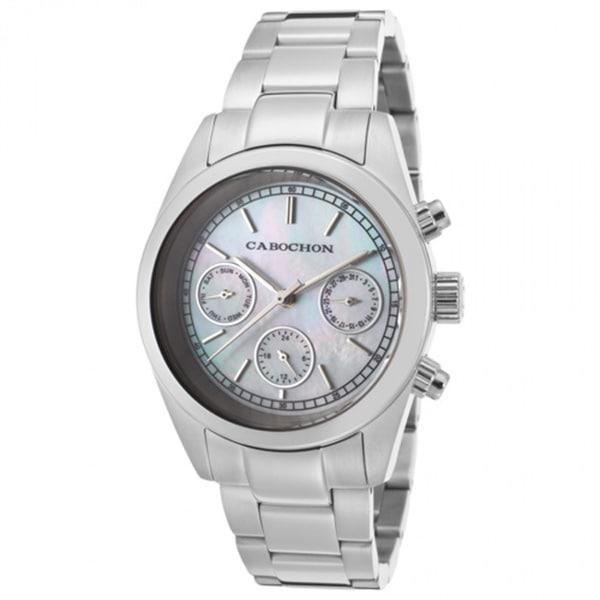 Cabochon De Ce Monde White Watch CABOCHON-1101