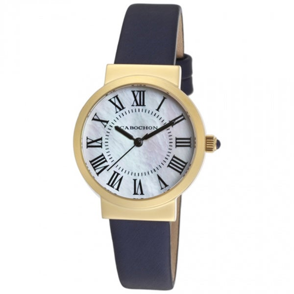 Cabochon Women's Sophistique White Mother of Pearl Watch CABOCHON-1302S-03